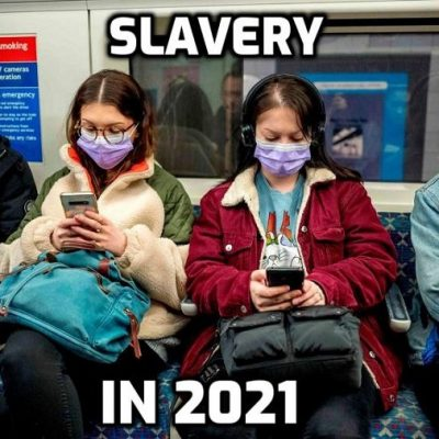 UK Health Expert Who Absolutely Isn't Predicts Social Distancing And Masks for the 'Next Few Years' - exactly what the plan is and only we can stop it by refusing to cooperate with out own enslavement