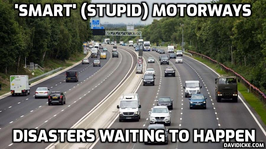 Coroner calls for review of 'smart' motorways – David Icke