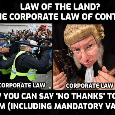 Yellowjackets with fake jurisdiction representing corporate contract 'statute' law sent packing by the common law of the people - KNOW YOUR RIGHTS AND USE THEM (1)