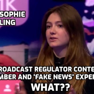 How can this young girl Anna-Sophie Harling with no broadcasting experience, and an executive of deeply biased system-serving 'Newsguard', be on the Content Board of British broadcast regulator, the Tony-Blair-created Ofcom?? How can Ofcom appoint someone obsessed with targeting the 'wrong' opinions unless it, too, seeks to target the 'wrong' opinions? Rhetorical question, by the way