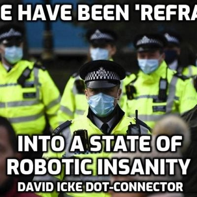 Police Have Been 'Reframed' Into A State Of Robotic Insanity - David Icke Dot-Connector - Please Share