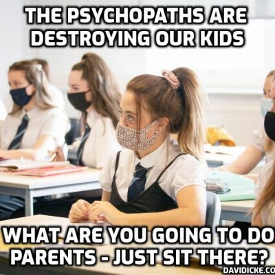 PARENTS - for god's sake they are destroying your children's health and minds - school pupils urged to wear face masks in classrooms and clueless, spineless teachers will do whatever they are told. Take your power back from them kids even if your parents won't and protect yourselves from the psychopaths who have you in their gunsights