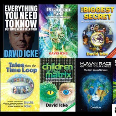 The Ultimate David Icke Collection - Top Ten David Icke Books + Renegade DVD