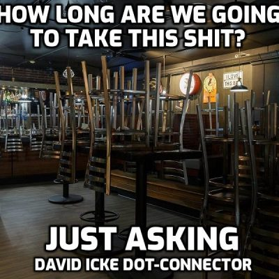 How Long Are We Going To Take This Shit? Just Asking - David Icke Dot Connector Videocast