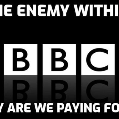 BBC ignores hundreds of thousands of people marching for freedom in London - why on earth are the public still paying the TV licence to fund these Cult-owned anti-human parasites and liars?
