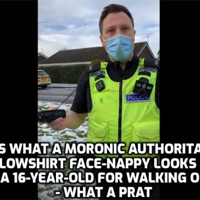 16 year old illegally stopped and harassed by Northumbria Police for walking near his home