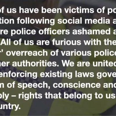 Fair Cop - challenging the fascism