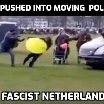 The shocking brutality of Dutch police in 'free and liberal Netherlands'