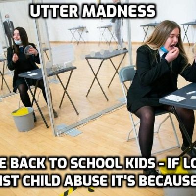 Unelected alleged 'experts' (I beg to differ) continue to run society - now they're telling mums on the school run to follow the rules. Why don't you shut the fuck up, mate, and do us all a favour? Live your own life and let others live theirs - I'm sure you've got plenty to work on