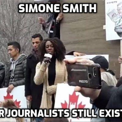 Proper journalist Simone Smith from Toronto Caribbean news exposes mainstream media 'Covid' lies
