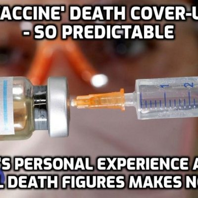 Colossal official underreporting of 'vaccine' deaths and bad reactions while public pushback grows against genetically-manipulating synthetic Frankenstein potion