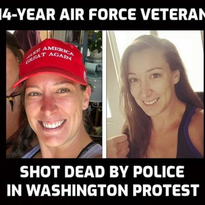 Capitol police officer who murdered unarmed protestor Ashli Babbitt not to be charged or named while man who filmed it is jailed - another day in the now fascist United States