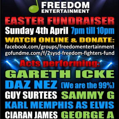 NHS Whistleblower Easter Sunday Fundraiser - 7pm UK