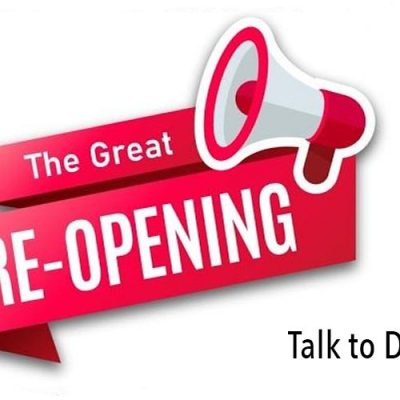 The Great Re-Opening Campaign Talk To David Icke