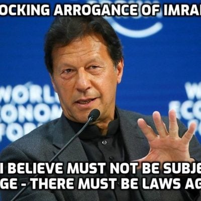 The unimaginable arrogance of Imran Khan - Pakistan PM urges the Muslim world to unite and use trade boycotts to force the West to pass blasphemy laws to protect 'the Prophet'