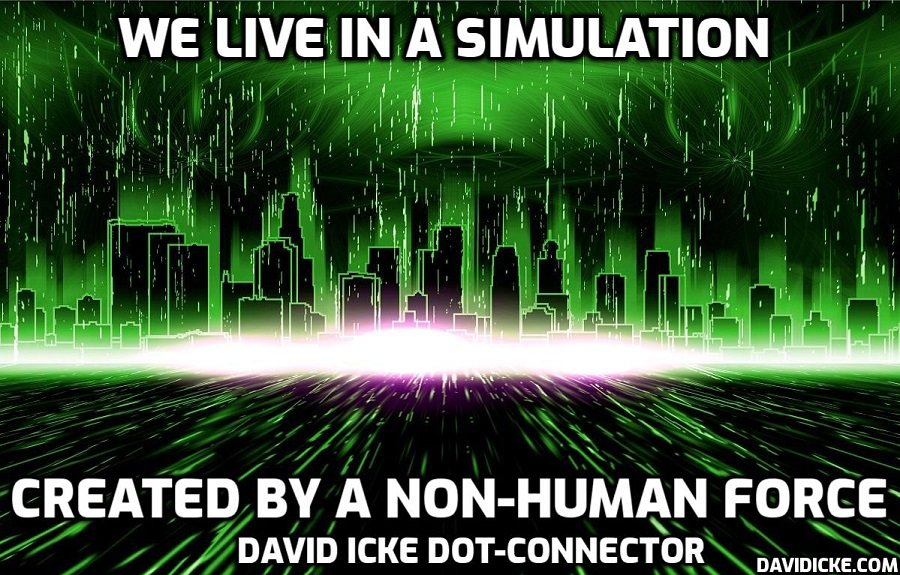 We Live In A Simulation Created By A Non-Human Force - David Icke Dot-Connector Videocast