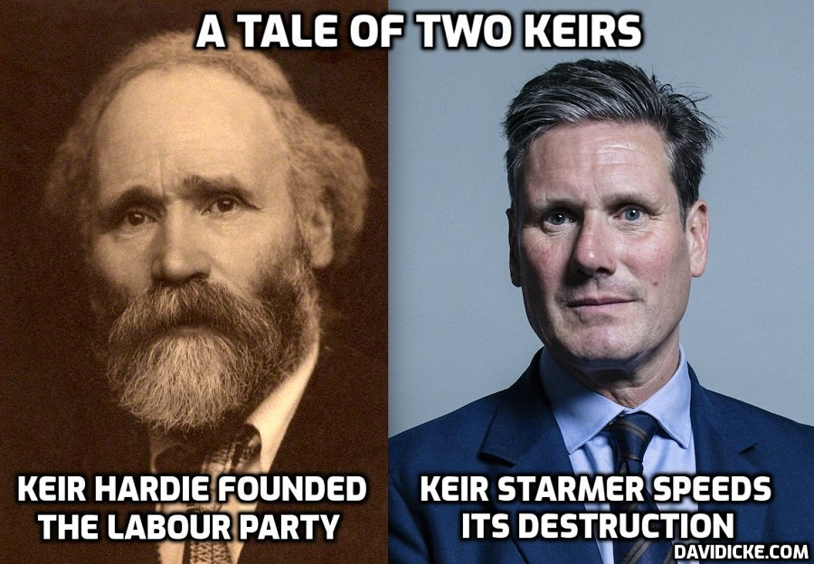 Starmer the Useless leads a disastrous party disastrously, but it's everyone's fault except his. Keir Hardie isn't just turning in his grave – he's spinning
