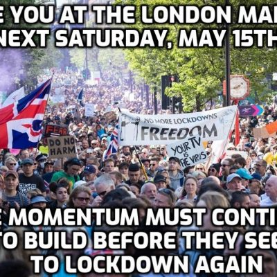 See you at the next fantastic freedom march in London this Saturday - Do you hear the People sing?