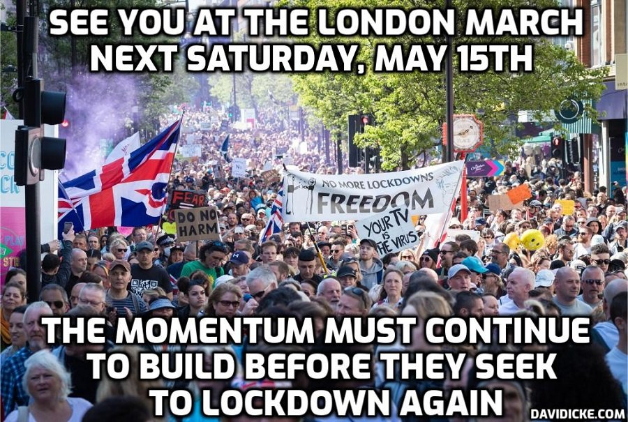 See you at the next fantastic freedom march in London this Saturday – Do you hear the People sing?