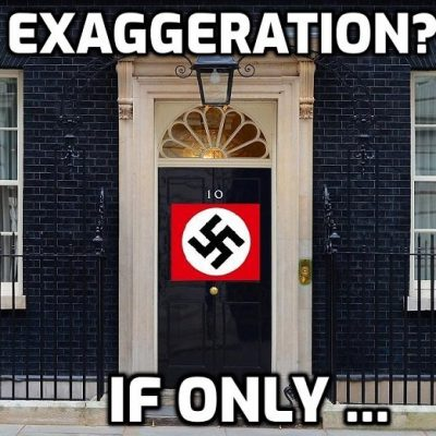 Fascist UK government plans to destroy all alternative media using the excuse of 'harms'  - even Hitler would have been embarrassed