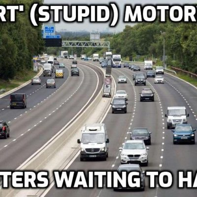 'They're a death trap': Motorcyclist demands smart motorways are ditched after suffering horrific accident on M6 that left him with one leg shorter than the other ('Smart motorways' when they make the emergency lane a running lane are preparing the way for driverless vehicles and so they don't give a damn how many die to bring that about)