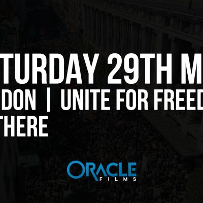 Unite For Freedom - 29th May - London - Oracle Films