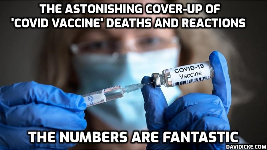 Teen Hospitalized With Blood Clots in Brain After First Dose of Pfizer Vaccine – David Icke