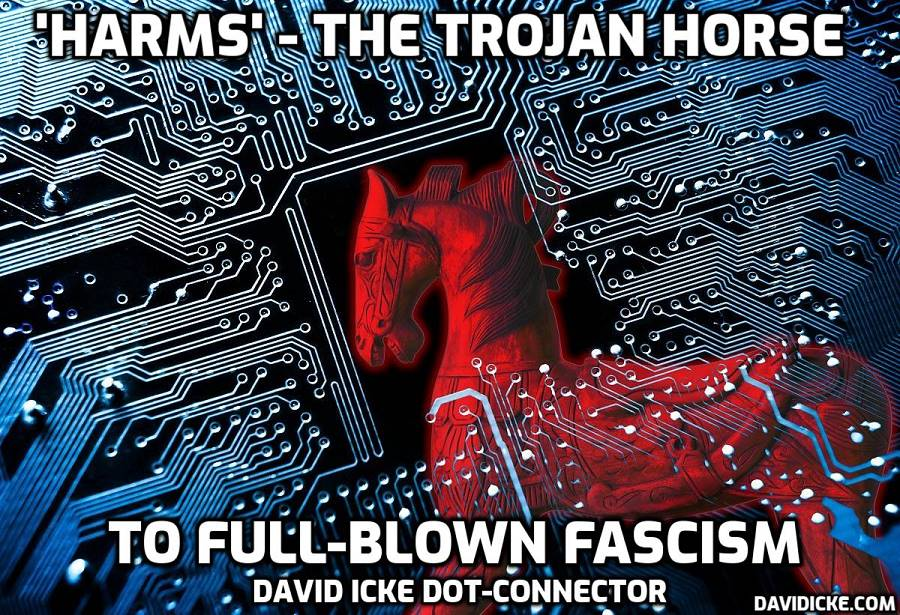 'Harms' - The Trojan Horse To Full Blown Fascism - David Icke Dot-Connector