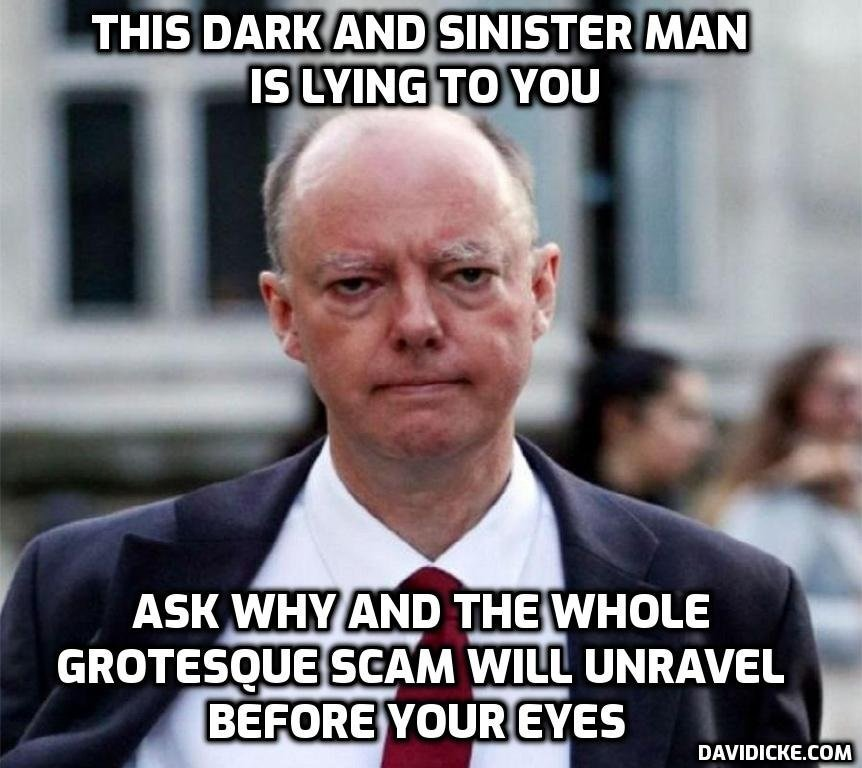 Pandemic outlook remains 'pretty bleak' – he's telling you what the plan is and he must have a date with a Nuremberg trial – David Icke