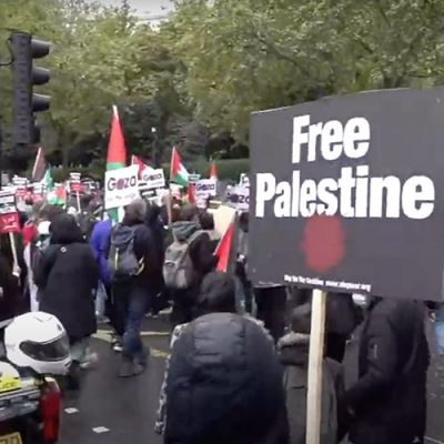 LIVE: Londoners rally in support of Palestine