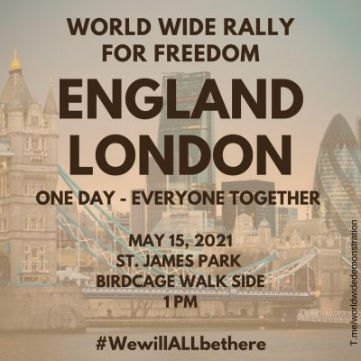 London Protest - This Saturday - 1pm