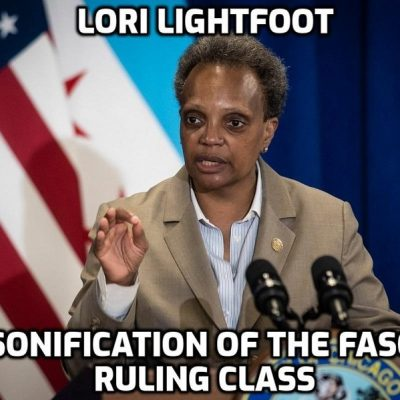 The extraordinarily unhinged Woke mayor of Chicago Lori Lightfoot has turned her city into a war zone with murders and shootings soaring despite having some of America's strictest gun-laws which shows that if criminals and killers want a gun they will get one no matter what the ban-guns-for-all Wokers claim