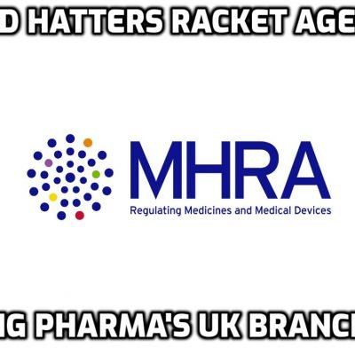 UK 'vaccine regulator' MHRA is responsible for the death and maiming of untold 'vaccine' victims by telling people the killer 'vaccines' are safe and now they are planning to do the same to kids. These psychopaths must go to jail for life