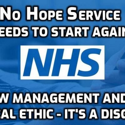 NHS boss says health service was NEVER overwhelmed by 'Covid'