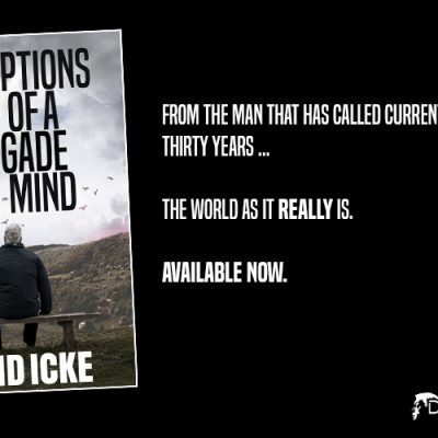 Perceptions Of A Renegade Mind - The Brand New Book By David Icke - Available Now