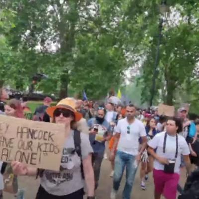 LIVE London Unite For Freedom Anti Lockdown Protest
