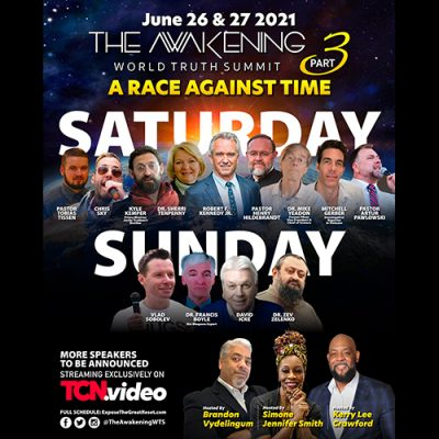 David Icke live on The Awakening Weekend with Toronto Caribbean This Saturday and Sunday