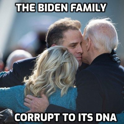 Joe Biden Denounces Crack While Hunter Smokes Pipe For Breakfast
