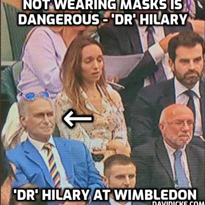 Extraordinary Hypocrite Dr Hilary – Dangerous Lies and Big Pharma Ties