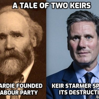 Cult agenda promotor Starmer says dropping all restrictions as infections rise is 'reckless' - no, making him leader of the 'Labour Party' was reckless. Indeed making him leader of ANYTHING is reckless