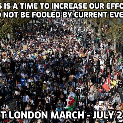 Told yer - Cult-owned Sage warns UK freedoms may only last for WEEKS amid surging fake Delta cases as Jackboot Johnson tells Britons NOT to get 'demob happy' - next London march July 24th and now is the time to increase our effort not take a breather. That's what they want