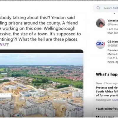 UK Building Massive Covid Detention Centers