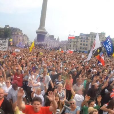 UKColumn reports on FANTASTIC London freedom event (or maybe it wasn't, it seems) - item starts at 34.07