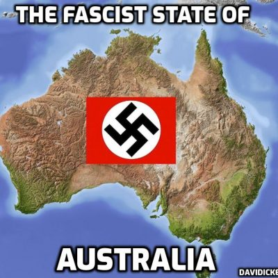 Fascist Australian police clash with anti-lockdown protesters after failing to suppress dissent with overwhelming force