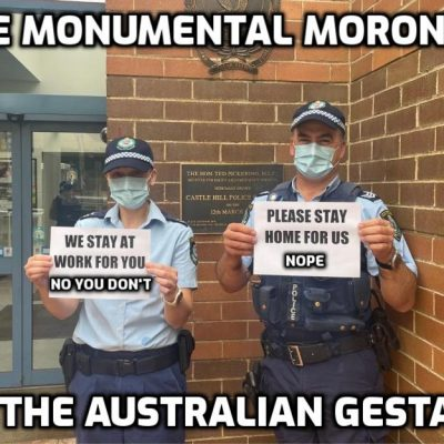 'Literally fascism': Australian man sentenced to maximum of 8 months in prison for organizing 'unauthorized' anti-lockdown protest