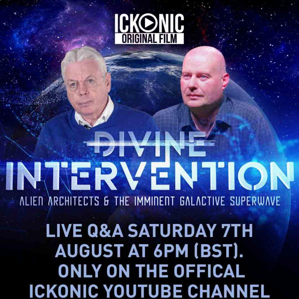 David Icke Divine Intervention Q&A - August 7th