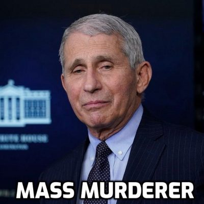 Mass-Murdering Psychopath Fauci Says Americans Must Get Fake Vaccinated to a 'Very High Degree' To Avoid 'Dark Winter' - get your tongue from up the Gates arse you mega-criminal and the 'Dark Winter' is in the script whatever as you know Mr Pure Evil