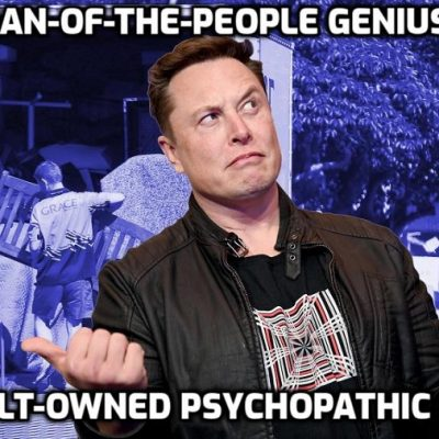 Are you getting yet? Elon Musk is a psychopathic moron: SpaceX's Starlink satellites near-misses with other spacecraft are getting 'out of control', experts say