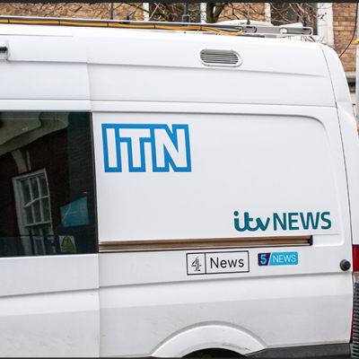 Dozens of anti-vaxers force their way into ITN building to vent fury at media coverage