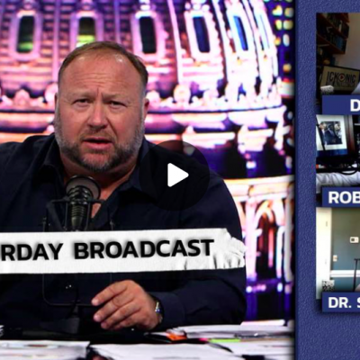 Emergency Broadcast: Infrastructure Bill Containing Martial Law Provisions Set To Pass - David Icke Talks To Alex Jones